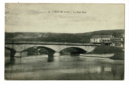 Limay - Le Ponr Neuf - Circulé 1924 - Limay
