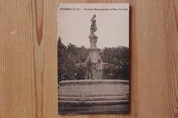 NOUMEA (NOUVELLE CALEDONIE) - FONTAINE MONUMENTALE ET PLACE COURBET - Nouvelle Calédonie