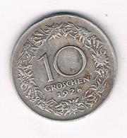 10 GROSCHEN  1928 OOSTENRIJK /6442// - Autriche