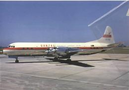 Qantas Australia Airlines Lockheed L-188C VH-ECB Costellation Aviation Airplane - 1946-....: Era Moderna
