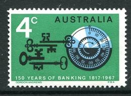 Australia 1967 150th Anniversary Of Australian Banking MNH (SG 410) - 1966-79 Elizabeth II