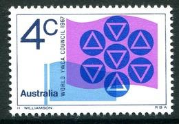 Australia 1967 World YWCA Council Meeting MNH (SG 412) - 1966-79 Elizabeth II