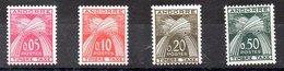 Serie De Andorra Francesa Tasas N ºYvert 42/45 ** Valor Catálogo 70.0€ OFERTA (OFFER) - Impuestos