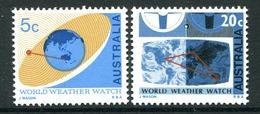 Australia 1968 World Weather Watch Set MNH (SG 417-418) - 1966-79 Elizabeth II