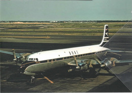 BOAC Douglas DC-7C G-AOIA Aereo Aviation At JFK Airplane British Overseas Airways Corporation - 1946-....: Era Moderna