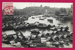 Carte Photo Asie - Singapour - Boat Quay Singapore - Singapore