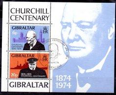 Hoja Bloque De Gibraltar N ºYvert 1 (o) - Gibraltar