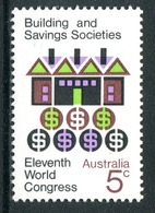 Australia 1968 Building And Saving Societies Congress MNH (SG 430) - 1966-79 Elizabeth II