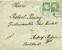 (Lo3562) Altdeutschland Brief Bayern St. Nürnberg N. Adorf - Germany