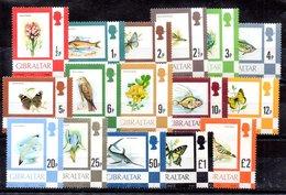 Serie De Gibraltar N ºYvert 348/63 ** Valor Catálogo 40.0€ - Gibraltar
