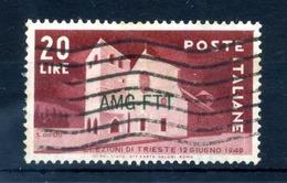 1949 TRIESTE ZONA A SET USATO - Trieste