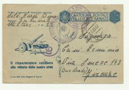CARTOLINA FORZE ARMATE - GUERRA D'ALBANIA  1943 FP - Weltkrieg 1939-45