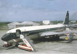 BOAC Boeing 707 Stratocruiser G-APFC Aereo Aviation Airplane At MNL British Overseas Airways Corporation - 1946-....: Era Moderna