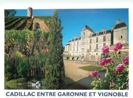33 - Cadillac Sur Garonne - Entre Garonne Et Vignoble - Fleurs - Voir Scans Recto-Verso - Cadillac