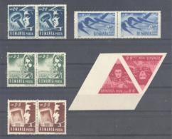 Romania / Rumanien  Michel #  1101 - 05 **  Paare  1105 Kehrdruck - 1948-.... Républiques