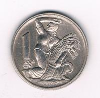 1 KORUN 1922  TSJECHOSLOWAKIJE /6451/ - Tschechoslowakei