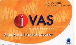 INDONESIA - TELKOM INDONESIA - IVAS MICRO PAYMENT - SCARCE CARD - Indonesia