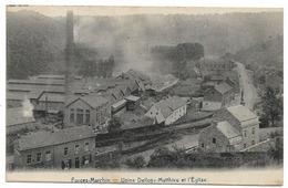 Forges-Marchin - Usine Delloy Mathieu Et L'Eglise - Circulé - 2 Scans. - Marchin