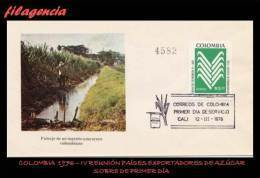 AMERICA. COLOMBIA SPD-FDC. 1976 REUNIÓN DE PAÍSES LATINOAMERICANOS PRODUCTORES DE AZÚCAR - Colombia