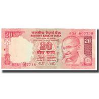 Billet, Inde, 20 Rupees, KM:96b, TTB - Inde