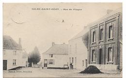 Solre Saint Géry -Rue De Plagne - Ed: A. Dehoe - Circulé - 2 Scans. - Beaumont