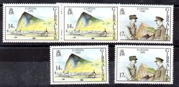3 Series De Gibraltar N ºYvert 458/59 ** - Gibraltar