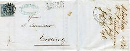 (Lo3565) Altdeutschland Brief Bayern St. OMR325 München N. Erding - Germania