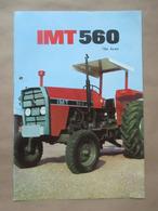 IMT 560 / 567 De Luxe Tractor Brochure,Prospect,Traktor,Industry Of Agricultural Machines,Tractors,Belgrade,Yugoslavia - Tracteurs