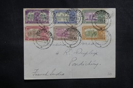 INDE - Affranchissement Plaisant De Pondicherry Pour Pondicherry En 1931 - L 41633 - India (...-1947)