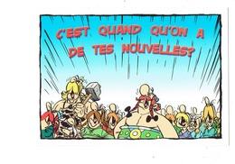Cpm - Cartoon ASTERIX - - Comics