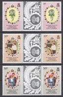 Tristan Da Cunha 1981 Mi# 304-06** ROYAL WEDDING - Tristan Da Cunha