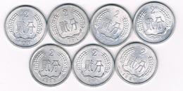 2 FEN LOT CHINA /6468/ - Chine