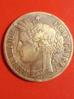 Très Jolie Pièce De 5 Francs Cérès 1851A, Argent, TTB - Francia