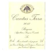 Etiquette De Vin - Bergerac Cantus Terra 2017 - Bergerac