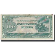 Billet, Birmanie, 100 Rupees, KM:17b, TB - Myanmar