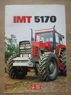 IMT 5170 / 5173 Tractor Brochure,Prospect,Traktor,Industry Of Agricultural Machines,Tractors,Belgrade,Yugoslavia - Tracteurs
