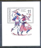 J106- Slovakia Slovensko 1997 Folklore Festival Vychodna. - Slovakia