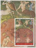 Umm Al Qiwain 1972 Mi. 894 Dante Virgilio Divina Commedia Inferno XII Miniatura Illustrazione Centauri Flegetonte - Mitologia