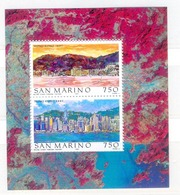 J108- SAN MARINO 1997. HONG KONG 1897-1997. PAINTING. - San Marino