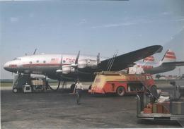 TWA - Trans World Airlines Lockheed L-049 Costellation N507 Aviation Airplane - 1946-....: Era Moderna