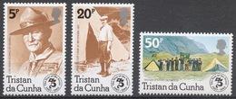 Tristan Da Cunha 1982 Mi# 327-29** SCOUTING YEAR - Tristan Da Cunha
