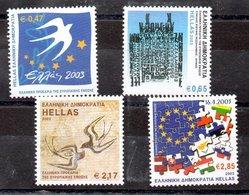 Serie De Grecia N ºYvert 2129/32 ** Valor Catálogo 20.0€ OFERTA (OFFER) - Nuevos