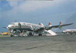 TWA - Trans World Airlines Lockheed L-1049 Costellation N6905C Aviation Airplane - 1946-....: Era Moderna