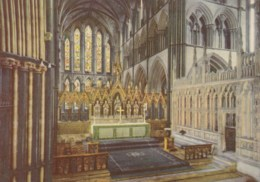 AL19 High Altar And Prince Arthur's Chantry, Worcester Cathedral - Worcestershire