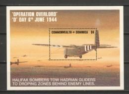 Dominica 1994 Mi Block 244 MNH WORLD WAR 2 - AIRCRAFT - Airplanes