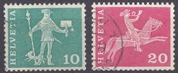 HELVETIA - SUISSE - SVIZZERA - Lotto Composto Da 2 Valori Usati: Yvert 644A E 646A. - Usati