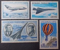 R1615/803 - 1965/1971 - POSTE AERIENNE - N°42 à 45 NEUFS** - Poste Aérienne