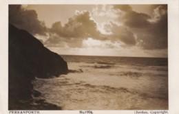 AN43 Perranporth - Atmospheric Coast Scene - RPPC - Other