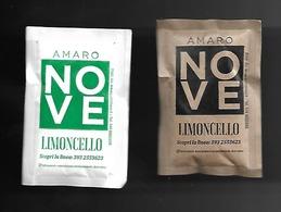2 Bustine Zucchero Bianco E Grezzo Italia - Amaro Nove - Zucchero (bustine)