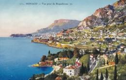 AQ61 Monaco, Vue Prise De Roquebrune - LL Postcard - Monaco